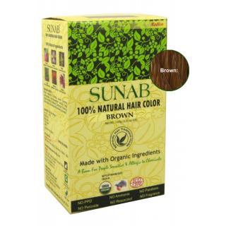 Radico Sunab Natural Brown Hair Color - 100g