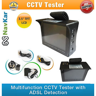 3.5inch TFT LCD Display Monitor CCTV Tester  LCD Inspect Monitor for Camera