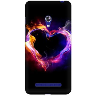 Mobicture Abstract Design Premium Printed High Quality Polycarbonate Hard Back Case Cover For Asus Zenfone Go With Edge To Edge Printing