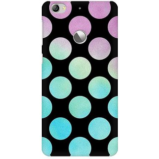 Mobicture Big Polka Dots Premium Printed High Quality Polycarbonate Hard Back Case Cover For LeEco Le 1s With Edge To Edge Printing