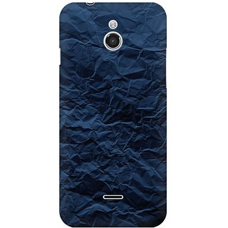 Mobicture Crumpled Paper Premium Printed High Quality Polycarbonate Hard Back Case Cover For InFocus M2 With Edge To Edge Printing