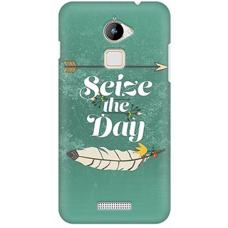 Mobicture Seize The Day Premium Printed High Quality Polycarbonate Hard Back Case Cover For Coolpad Note 3 Lite With Edge To Edge Printing