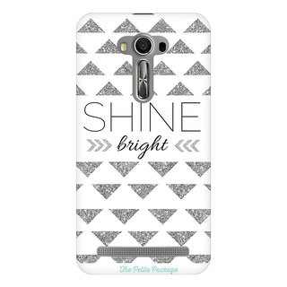 Mobicture Shine Quote Premium Printed High Quality Polycarbonate Hard Back Case Cover For Asus Zenfone 2 Laser ZE550KL With Edge To Edge Printing