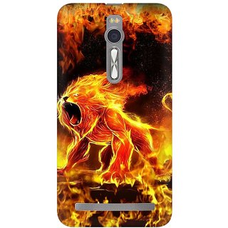 Mobicture Abstract Design Premium Printed High Quality Polycarbonate Hard Back Case Cover For Asus Zenfone 2 With Edge To Edge Printing