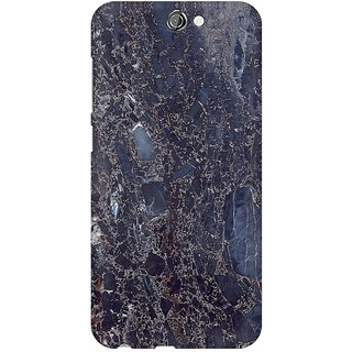 Mobicture Abstract Marble Print Premium Printed High Quality Polycarbonate Hard Back Case Cover For HTC One A9 With Edge To Edge Printing