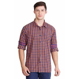 JDC URBAN-FIT  Men's Multi  color Full sleeve Cotton Shirt's