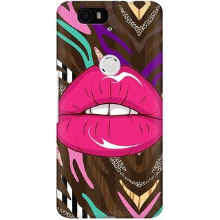 Mobicture Abstract Design Premium Printed High Quality Polycarbonate Hard Back Case Cover For Huawei Nexus 6P With Edge To Edge Printing