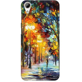 Mobicture Abstract Design Premium Printed High Quality Polycarbonate Hard Back Case Cover For HTC Desire 626 With Edge To Edge Printing