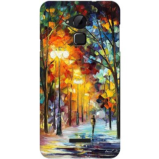 Mobicture Abstract Design Premium Printed High Quality Polycarbonate Hard Back Case Cover For Coolpad Note 3 With Edge To Edge Printing