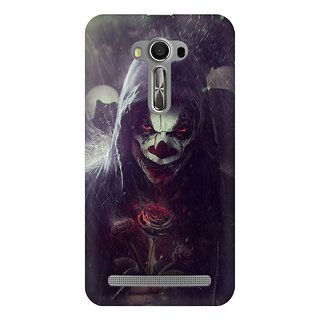 Mobicture Abstract Design Premium Printed High Quality Polycarbonate Hard Back Case Cover For Asus Zenfone Selfie With Edge To Edge Printing