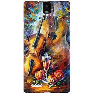 Mobicture Abstract Design Premium Printed High Quality Polycarbonate Hard Back Case Cover For InFocus M330 With Edge To Edge Printing