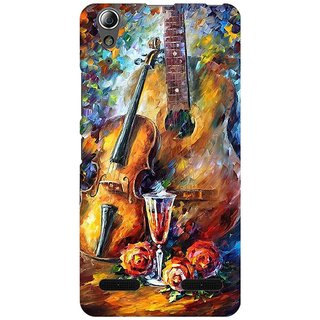 Mobicture Abstract Design Premium Printed High Quality Polycarbonate Hard Back Case Cover For Lenovo A6000 Plus With Edge To Edge Printing