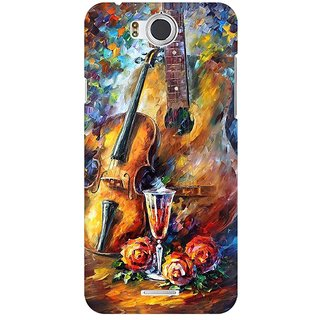 Mobicture Abstract Design Premium Printed High Quality Polycarbonate Hard Back Case Cover For InFocus M530 With Edge To Edge Printing