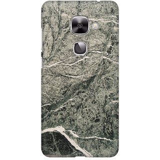 Mobicture Abstract Marble Print Premium Printed High Quality Polycarbonate Hard Back Case Cover For LeEco Le 2 With Edge To Edge Printing