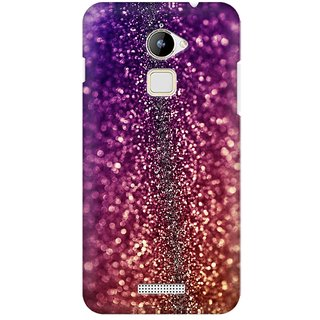 Mobicture Abstract Printed Glitter Premium Printed High Quality Polycarbonate Hard Back Case Cover For Coolpad Note 3 Lite With Edge To Edge Printing