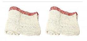 Luxmi Pack of 4 Multipurpose cleaning cloth Duster- Multi