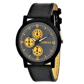 Lorenz 1040A Golden Chrono Style Analog Watch For Men