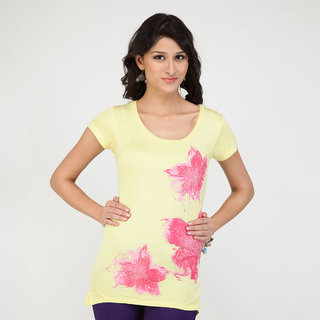 Strawberry T-Shirts for Women - 3 Flowers