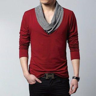 11ba1cada4f Buy Amaze Stylish Red Long Sleeve Online   ₹499 from ShopClues