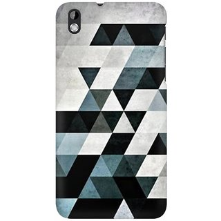 Mobicture Abstract Design Premium Printed High Quality Polycarbonate Hard Back Case Cover For HTC Desire 816 With Edge To Edge Printing