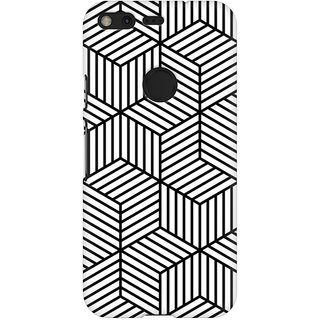Mobicture Abstract Design Premium Printed High Quality Polycarbonate Hard Back Case Cover For Google Pixel XL With Edge To Edge Printing