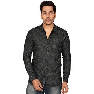 Men's Casual Solid Cotton Shirt