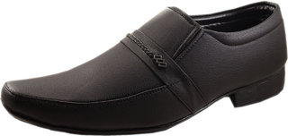 Dolly Shoe Company Men's Black Formal Slip on Shoes