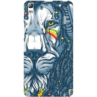 Mobicture Abstract Design Premium Printed High Quality Polycarbonate Hard Back Case Cover For Lenovo A7000 With Edge To Edge Printing