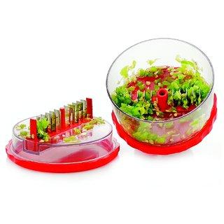 Meet Unbreakable Plastic Multi Crusher  Transparent/Red