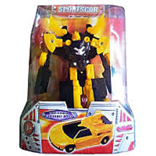 Transformer The Robot Toy Changes From Robot To Sports Racing Car