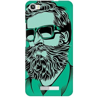 Mobicture Abstract Design Premium Printed High Quality Polycarbonate Hard Back Case Cover For Lava Iris X8 With Edge To Edge Printing