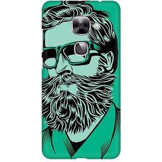 Mobicture Abstract Design Premium Printed High Quality Polycarbonate Hard Back Case Cover For LeEco Le 2 With Edge To Edge Printing