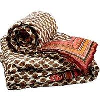 UFC Mart Jaipuri Pure Cotton Double N Single Bed Quilt