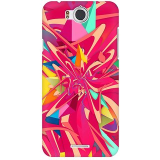 Mobicture Abstract Pattern Premium Printed High Quality Polycarbonate Hard Back Case Cover For InFocus M530 With Edge To Edge Printing
