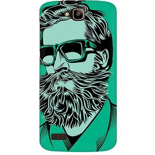 Mobicture Abstract Design Premium Printed High Quality Polycarbonate Hard Back Case Cover For Huawei Honor Holly With Edge To Edge Printing