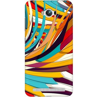 Mobicture Abstract Pattern Premium Printed High Quality Polycarbonate Hard Back Case Cover For Asus Zenfone Max With Edge To Edge Printing