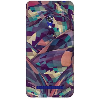 Mobicture Abstract Design Premium Printed High Quality Polycarbonate Hard Back Case Cover For Asus Zenfone 5 With Edge To Edge Printing