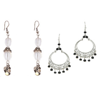 Gold  Silver Plated Earring Combo by Sparkling Jewellery