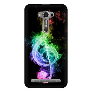 Mobicture Music Abstract Premium Printed High Quality Polycarbonate Hard Back Case Cover For Asus Zenfone Selfie With Edge To Edge Printing