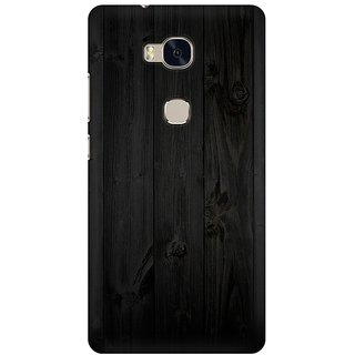 Mobicture Wooden Abstract Premium Printed High Quality Polycarbonate Hard Back Case Cover For Huawei Honor 5X With Edge To Edge Printing