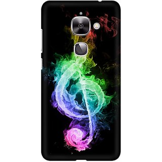 Mobicture Music Abstract Premium Printed High Quality Polycarbonate Hard Back Case Cover For LeEco Le 2 With Edge To Edge Printing