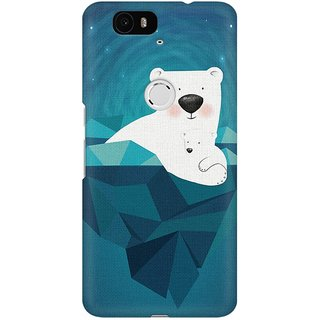 Mobicture Always Love You Premium Printed High Quality Polycarbonate Hard Back Case Cover For Huawei Nexus 6P With Edge To Edge Printing