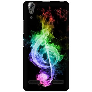 Mobicture Music Abstract Premium Printed High Quality Polycarbonate Hard Back Case Cover For Lenovo A6000 With Edge To Edge Printing