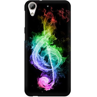 Mobicture Music Abstract Premium Printed High Quality Polycarbonate Hard Back Case Cover For HTC Desire 626 With Edge To Edge Printing
