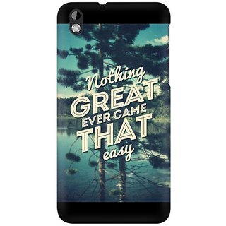 Mobicture Get Inspired Premium Printed High Quality Polycarbonate Hard Back Case Cover For HTC Desire 816 With Edge To Edge Printing