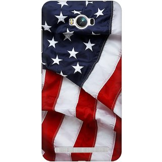 Mobicture America Premium Printed High Quality Polycarbonate Hard Back Case Cover For Asus Zenfone Max With Edge To Edge Printing