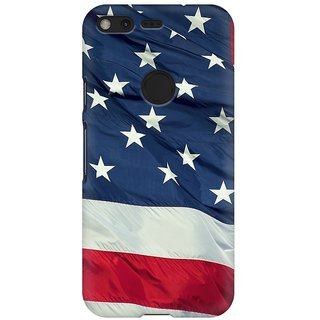 Mobicture America Premium Printed High Quality Polycarbonate Hard Back Case Cover For Google Pixel With Edge To Edge Printing