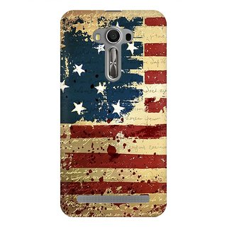Mobicture America Premium Printed High Quality Polycarbonate Hard Back Case Cover For Asus Zenfone 2 Laser ZE500KL With Edge To Edge Printing