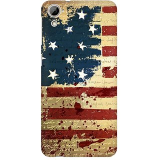 Mobicture America Premium Printed High Quality Polycarbonate Hard Back Case Cover For HTC Desire 820 With Edge To Edge Printing