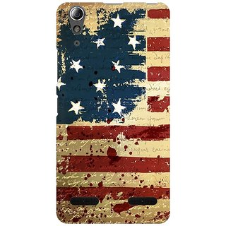 Mobicture America Premium Printed High Quality Polycarbonate Hard Back Case Cover For Lenovo A6000 Plus With Edge To Edge Printing
